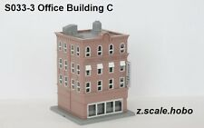 Rokuhan s033-3 Z Scale Pre-Built Brick Building Structure Downtown *NEW $0 SHIP