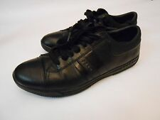 Prada Men's Casual Sneakers Shoes 4E 2013 Black Size 8 1/2