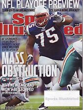 2011 Sports Illustrated New England Patriots Vince Wilfork Subscription Issue NM