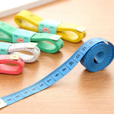 "New Soft Fabric Cloth Tape Measure Ruler Dual Side Tailor Metric 60"" 150cm CA"