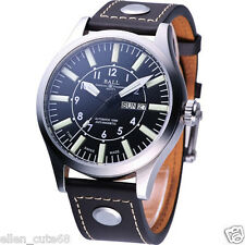 Genuine Ball Engineer Master II Aviator 46mm date nm1080c-l3-bk tritium 3H watch