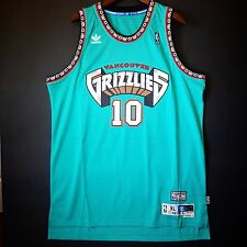 100% Authentic Mike Bibby Adidas Soul Swingman HWC Grizzlies Jersey Sz 2XL 52 *