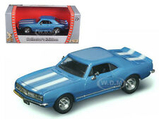 1967 CHEVROLET CAMARO Z-28 BLUE 1/43 MODEL CAR BY ROAD SIGNATURE 94216
