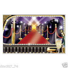 HOLLYWOOD Awards LIMO VIP Red Carpet ARRIVAL Mural Photo Booth Party Decoration