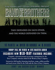 Band of Brothers ~ HBO MINISERIES ~ BRAND NEW 6-DISC BLU-RAY SET ~ USA RELEASE