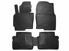 Mazda CX5 2012 2013 2014 2015 Rubber Car Floor Mats All Weather Custom Fit