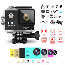 Mini SJ4000 WIFI 1080P HD Sports DV Waterproof Action Camera Helmet Bike Cam New