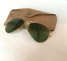 Vintage Aviator Bausch & Lomb Ray Ban 1/10 12K GF Sunglasses