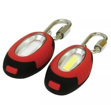 NEW EVEREADY LED 0.5W COB TECHNOLOGY TWIN LIGHTS WITH CARABINERS BEST GIFTS