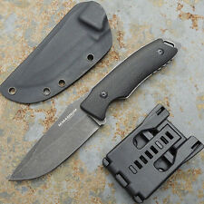 "Boker ADC Knife 3 ⅞"" 440 Stainless Steel Blade & Black G10 Handle 8 ½"" Overall"