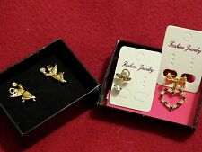 Vintage Avon Angels - Classics! Earrings, etc. SO CUTE! Perfect for 20th B-Day!