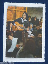 ak~ handmade greetings / birthday card 60s JOAN BAEZ
