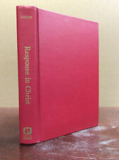 RESPONSE IN CHRIST:  the Christian Life By Edward Carter, S.J - 1969, Catholic