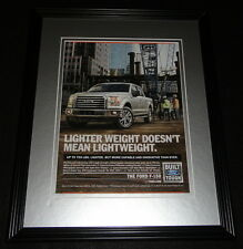 2015 Ford F-150 Truck Framed 11x14 ORIGINAL Advertisement B