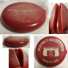 Basketball Hall of Fame Museum Shrine Quikoin Squeeze Red Change Coin Purse