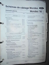 Ford MONDEO 1995 - 1996 : Schémas électriques