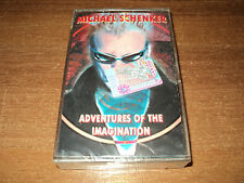 MICHAEL SCHENKER - ADVENTURES OF THE IMAGINATION (new sealed audio cassette)