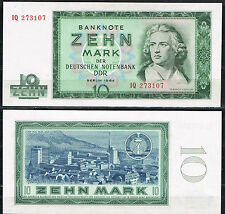 ALEMANIA GERMANY DDR  10  MARK 1964 Pick 355a   SC  UNC