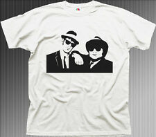 blues brothers bluesmobile film white cotton t-shirt 0535