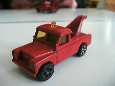 Corgi Juniors Land Rover Tow truck in Red