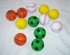 12 pcs Sponge Sport Ball Great for Child Outdoor Activities Party Favors Supply