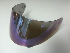 HALO helmet purple iridium visor (Purple tinted mirror)