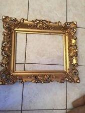Beautiful Vintage Deep Cove Ornate Gesso Gilded Art Frame