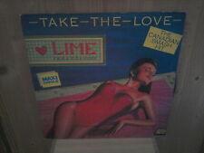 """LIME take the love 12"""" MAXI 45T Italo"""