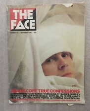 THE FACE MAGAZINE NOVEMBER 1981 julian cope gary numan thomas dolby DAVID BOWIE