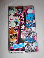 NEW Girl's Monster High 10 Pack Cotton Toddler Panties Underwear Size 6