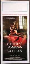 Locandina CHINESE KAMASUTRA 1°ED.IT.'94 GEORGIA EMERALD MARK GOSALVEZ LEO GAMBOA