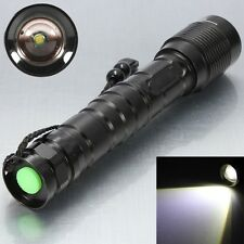 4000LM T6 LED ZOOMABLE Waterproof Flashlight Torch Lamp Light 18650/26650