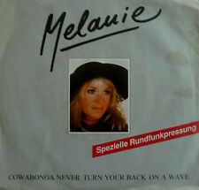 "7"" 1988 RARE IN VG++ ! MELANIE : Racing Heart"
