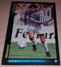 CARD GOLD 1993 SPAL MESSERSI CALCIO FOOTBALL SOCCER ALBUM