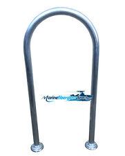 "42"" H x 16.75"" W Aluminum Handrail Handle Grab Bar Marine docks Boats, Pool, tub"
