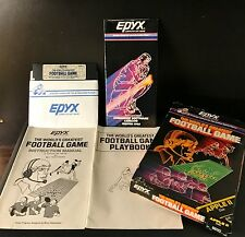 1985 Epyx Computer Software for Apple II The Worlds Greatest Football Game #8830