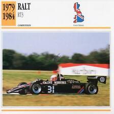 1979-1984 RALT RT3 Racing Classic Car Photo/Info Maxi Card