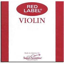 Super Sensitive Red Label 4/4 Violin E String - Medium
