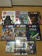 ��NEW�� Lego Star Wars Books & Movies Collection! ��NO MINIFIGURES INCLUDED��