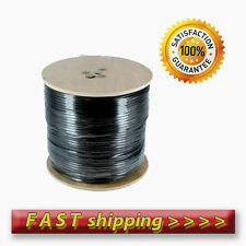 Coaxial Cable RG6 - 250m Black. For Sky Freesat Freeview Saorview / HQ Single