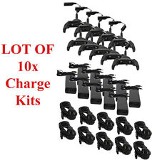 10x Symbol Motorola MC70 MC75 MC75A Charger Charging Cable Power Cradle Charge