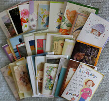 Lot of 50 All Occasion Greeting Cards, Birthday, thank you, thinking of you, etc