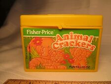 Fisher Price Fun with Food Animal Crackers Box cookies snack toy part yummy some