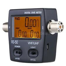 Digital LED SWR Wave Ratio Power Meter for HAM UHF/VHF 125-525MHz 120W DL JF50