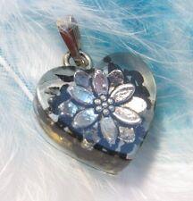 Orgonit / orgone pendant - SHUNGITE & LOTUS FLOWER- Protection electrosmog