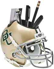 BAYLOR BEARS NCAA Schutt Mini Football Helmet DESK CADDY