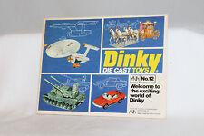 1976 DINKY CATALOG NO. 12, 40 PAGES, ORIGINAL