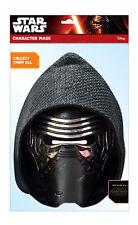 Kylo Ren Star Wars The Force Erwacht 2D Karten Party Gesichtsmaske Kostüm