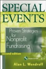 Special Events : Proven Strategies for Nonprofit Fundraising by Alan L....