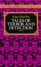 Dover Thrift Editions Ser.: Tales of Terror and Detection by Edgar Allan Poe...